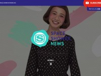 SPACE SHOWER NEWSのWebデザイン
