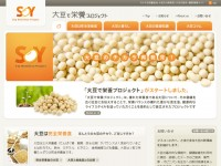 Soy Nutrition Institute JapanのWebデザイン