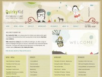 Quirky Kid ClinicのWebデザイン