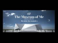 Intel® The Museum of MeのWebデザイン