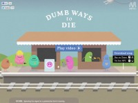 Dumb Ways To DieのWebデザイン