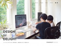 FOURDIGIT DESIGN Inc.のWebデザイン