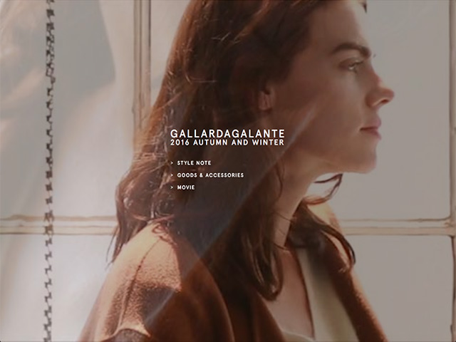 GALLARDAGALANTE 2016 AUTUMN AND WINTER