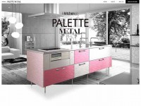i kitchen PALETTE METALのWebデザイン