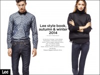 Lee style book, autumn & winter 2014のWebデザイン